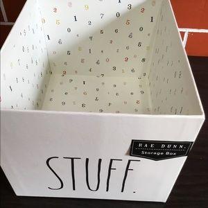 Rae Dunn Storage Box